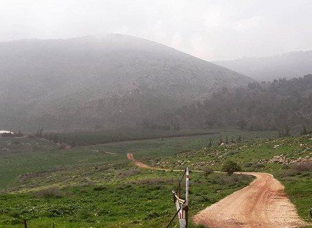The Beit Midrash Shetach on Mt. Gilboa – The North Eastern approaches to the land