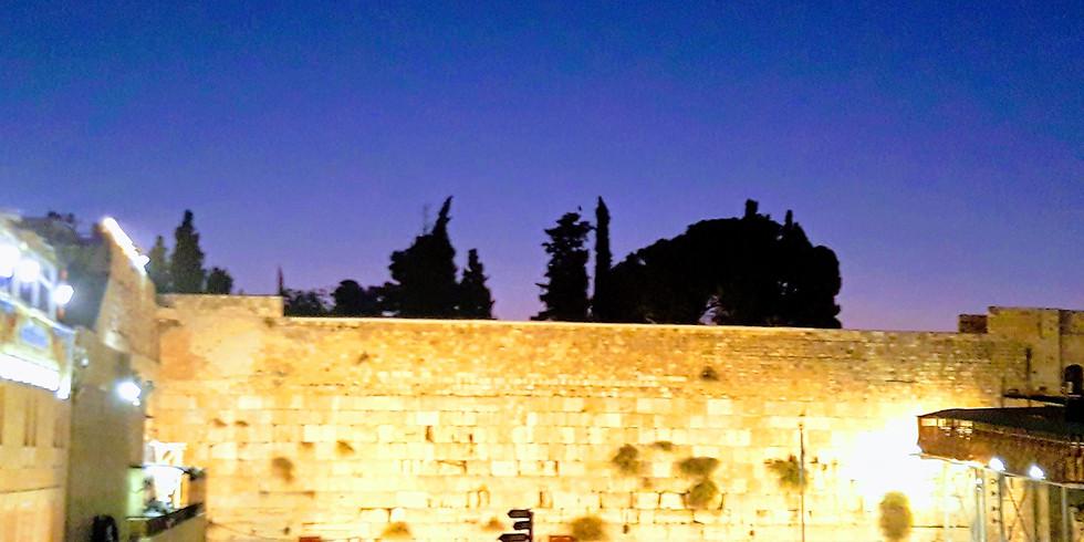 Hamikdash touring course in preperation for the nine days and Tisha b'av