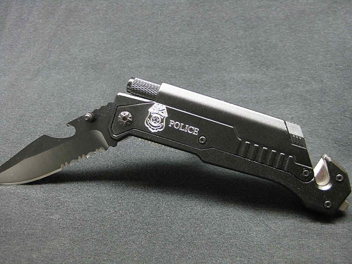 Police, Tactical Knife, 6-in-1 Multi-Tool