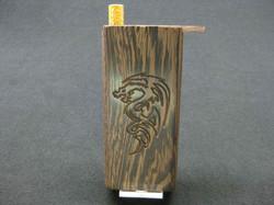 dragon tribal engraved