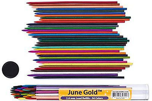 June Gold 2mm Colored Lead