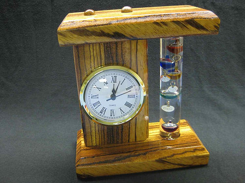 Desk Clock, Handmade