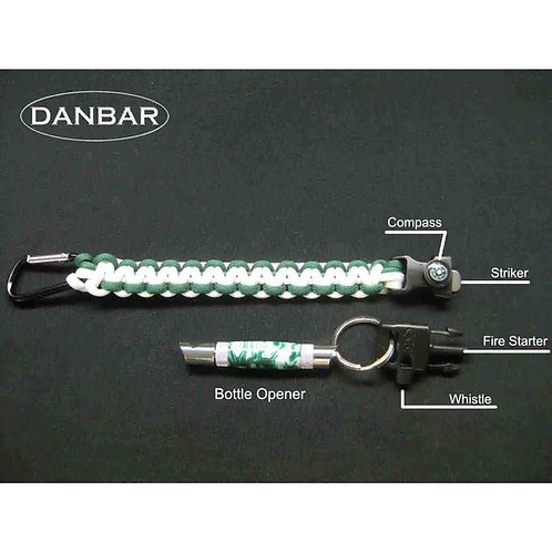 Bottle Opener Key Ring and ParaCord Multi-Tool
