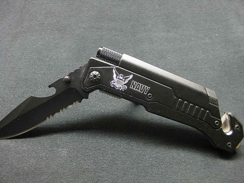 US Navy, Tactical Knife, 6-in-1 Multi-Tool