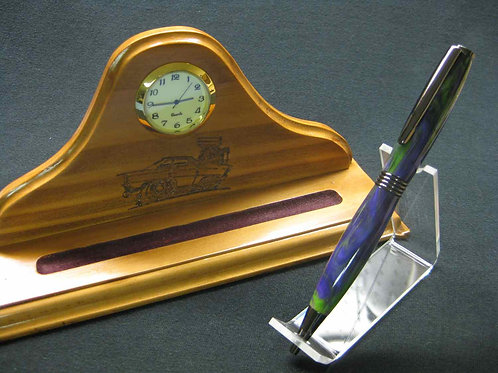 Clock and Pen Holder Combo