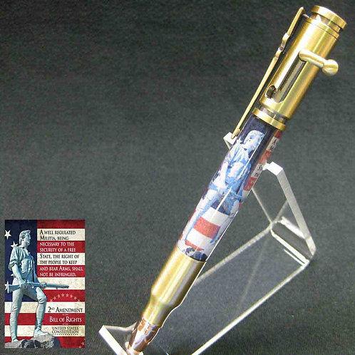 Bolt-Action 2nd Amendment Pen