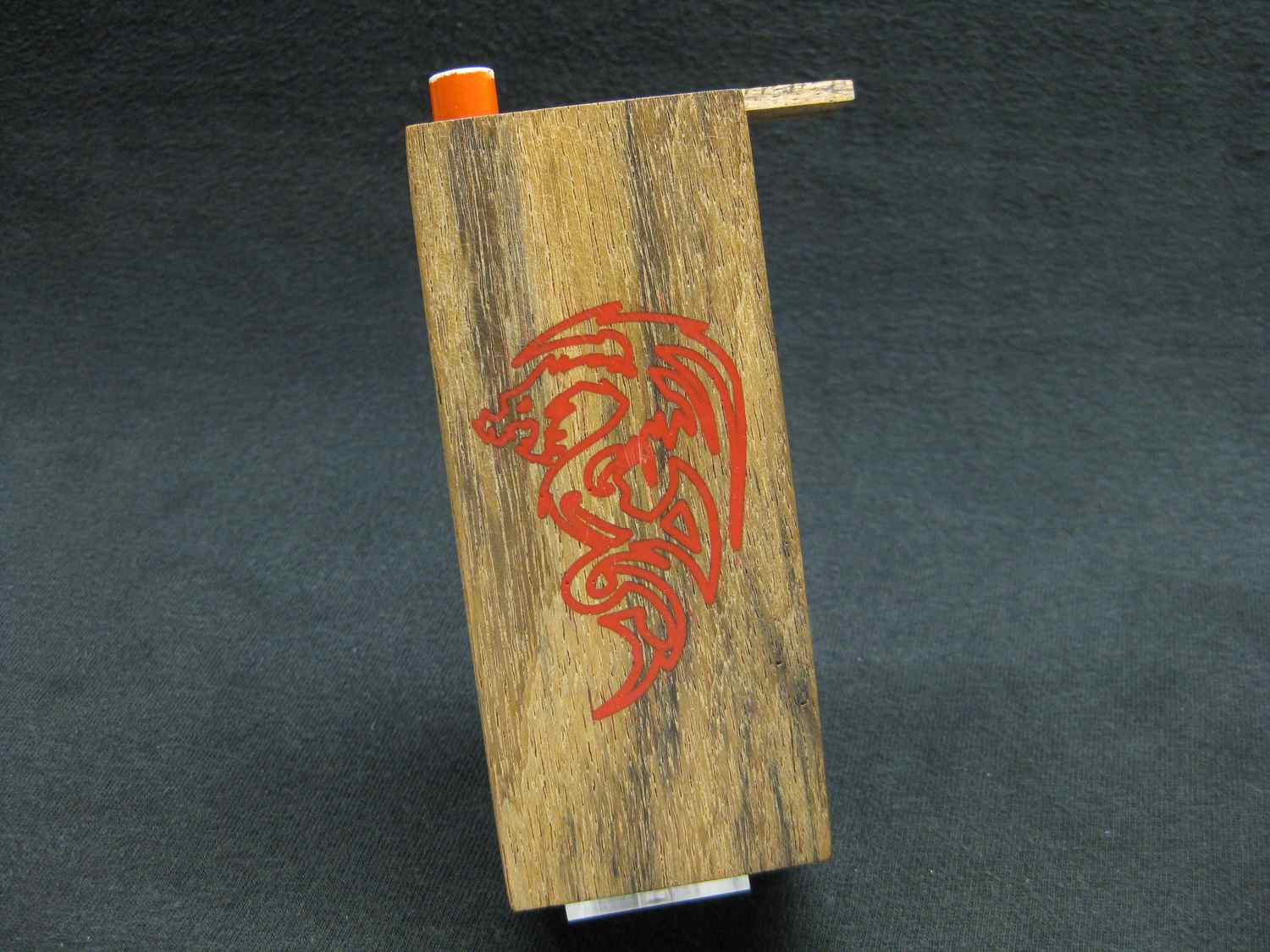 dragon tribal inlay