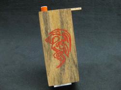 dragon tribal inlay