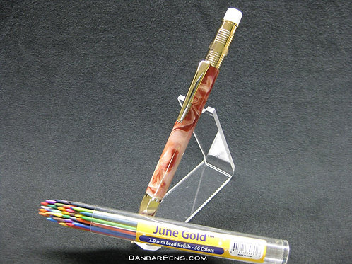 Mechanical Pencil 2mm, 36 Lead Colors Included!