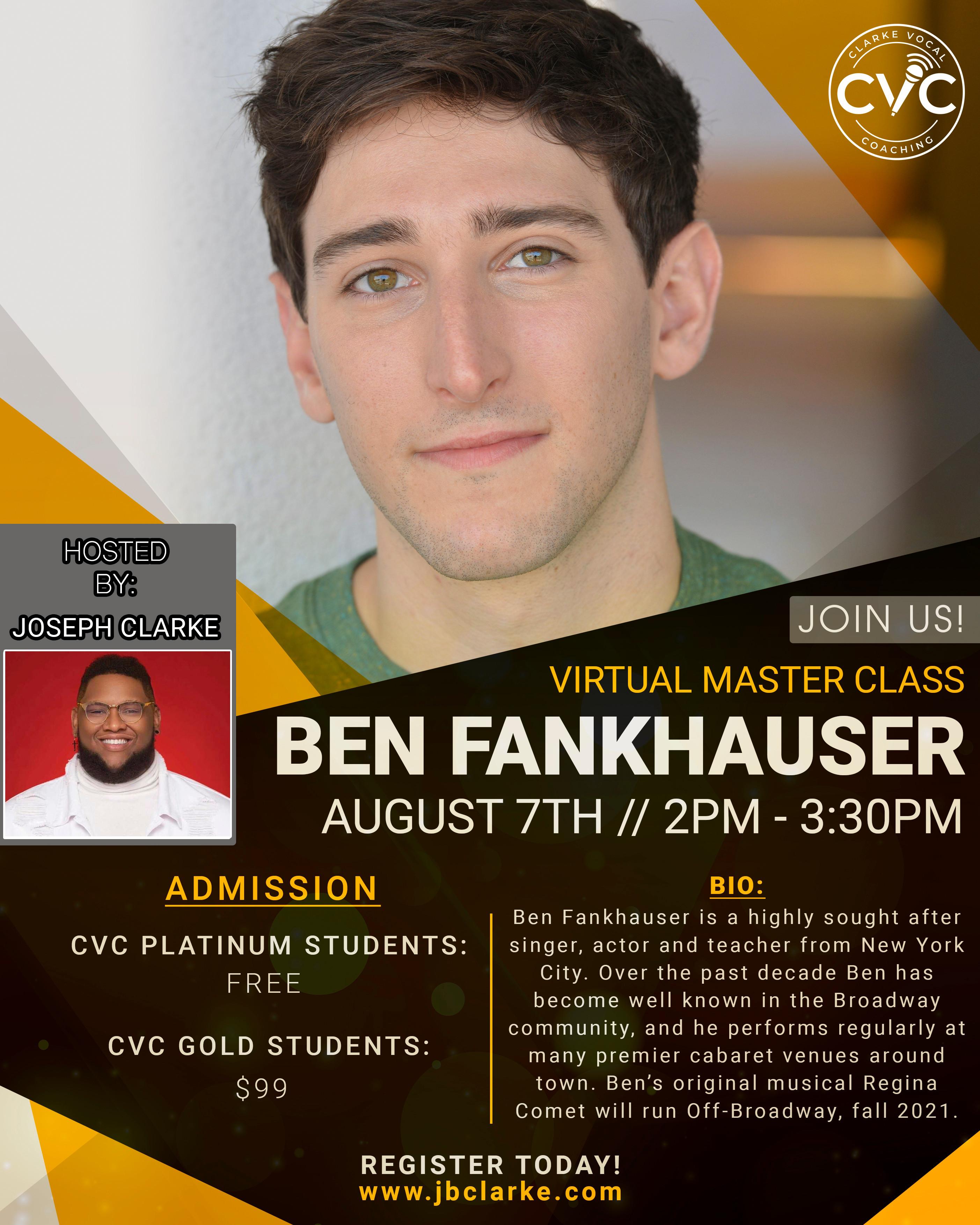 CVC Master Class w/ Ben Fankhauser