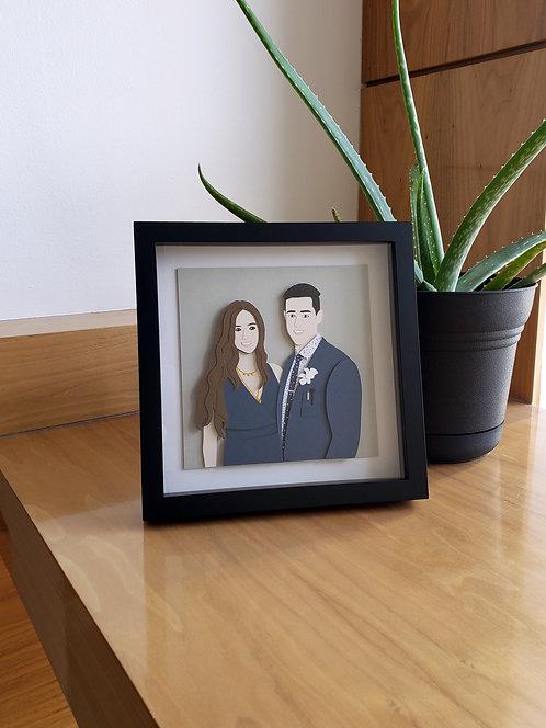 Portrait - Papercutting Art