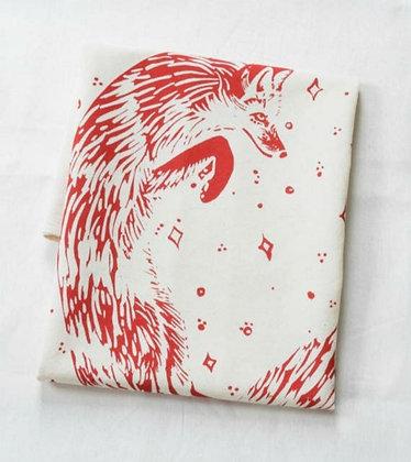 Celestial Fox Tea Towel