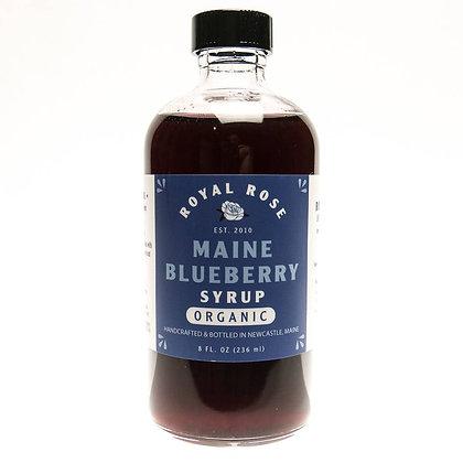 Organic Maine Blueberry Syrup