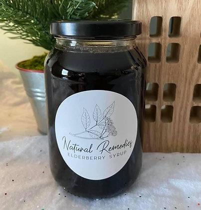 Natural Remedies Elderberry Syrup