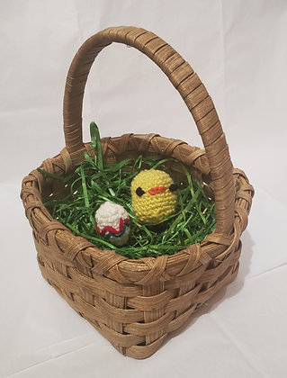 Easter Basket with Egg & Chick