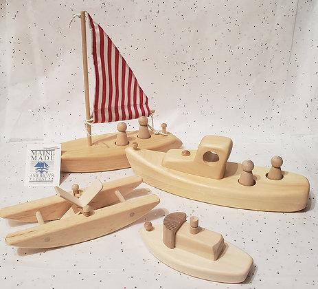 Wooden Bathtub Toys