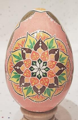 Pysanky Dyed Turkey Eggshells