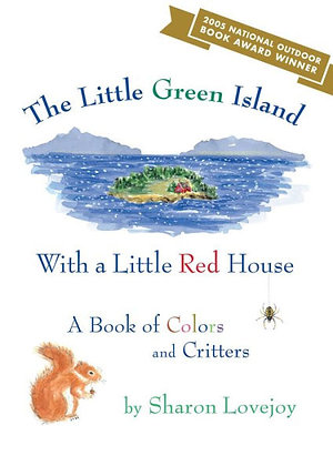 The Little Green Island with a Little Red House