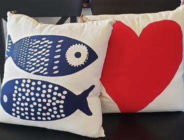 Throw Pillows by Erin Flett
