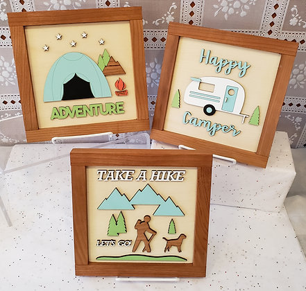 8x8 Wooden Signs