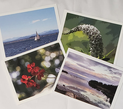 8-Pack Photo Print Notecards
