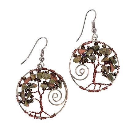 Twisted Tree Earrings