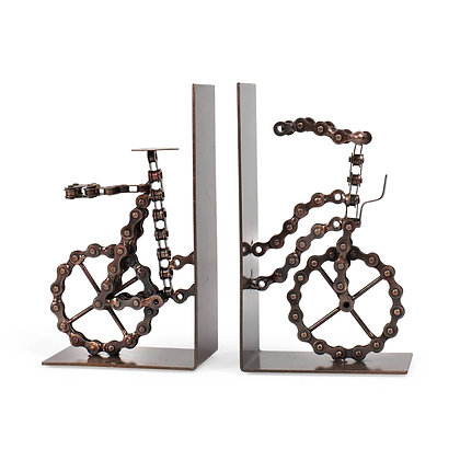 Bicycle Chain Bookends