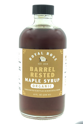 Barrel Rested Organic Maine Maple Syrup