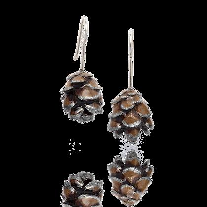 Pinecone Dangle Earrings