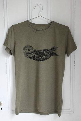 Women's Organic Otter T-Shirt