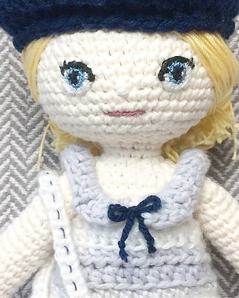 Crocheted Dress-up Doll by Michelle Ng