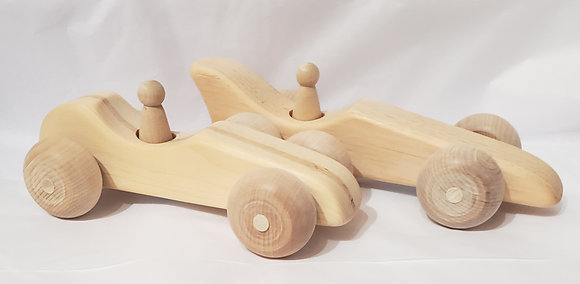 Wooden Race Cars