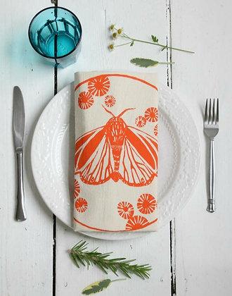 Tiger Moth Tea Towel