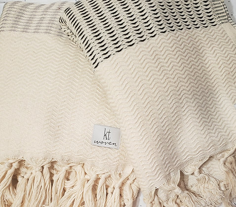 Plush Weave Turkish Throw