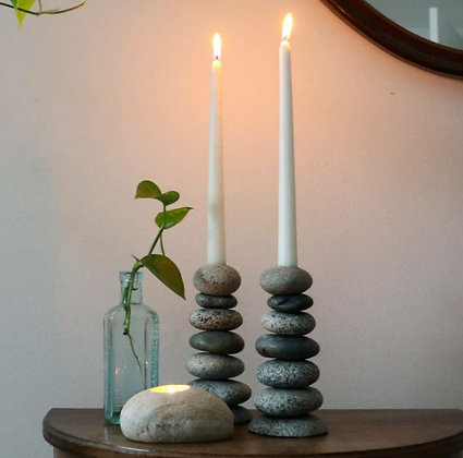 Cairn Candlestick Holders
