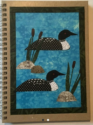 Fabric Collage Journals