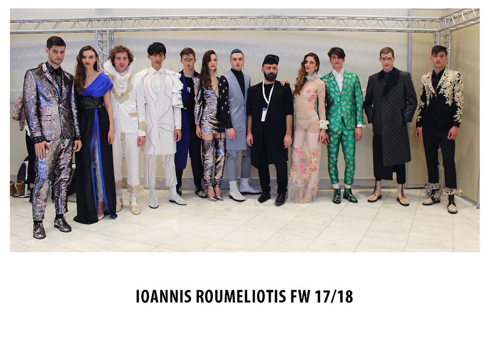 IOANNIS ROUMELIOTIS'S FW 17/18 ILLEGART SHOW ON APRIL 2nd