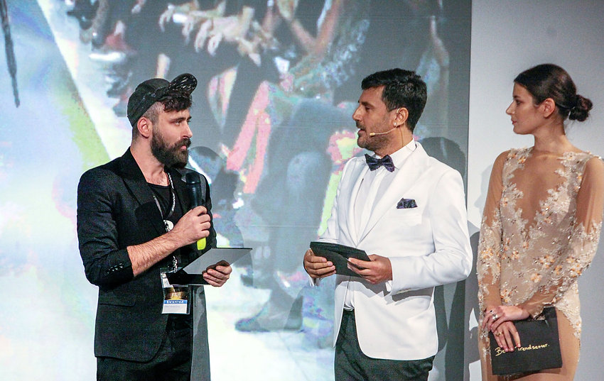 IOANNIS ROUMELIOTIS AWARDED FOR HIS SS17 COLLECTION AT AXDW