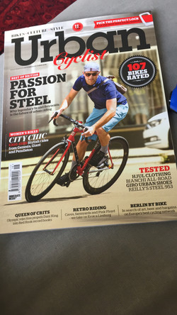 Gripster featured in Urban Cyclist