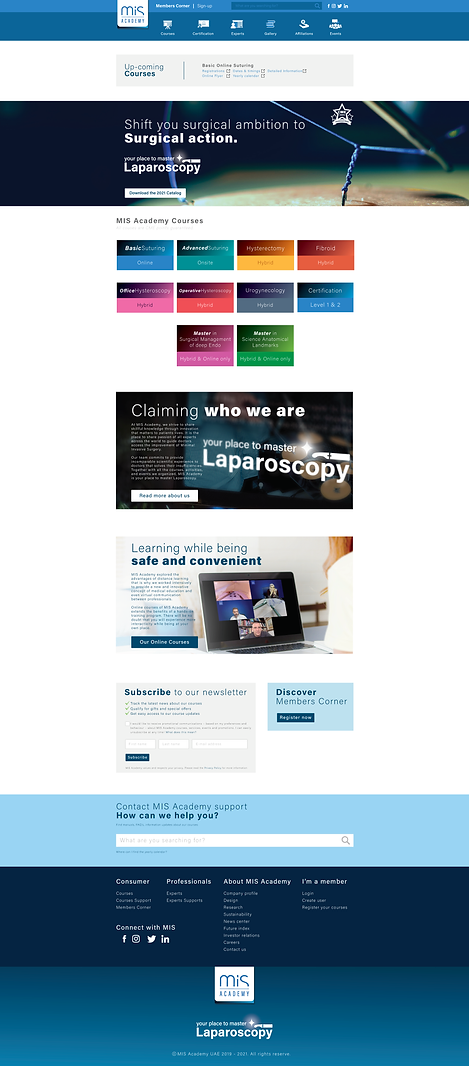 MIS Website landing page.png