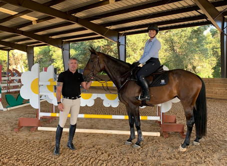 DiCorti Bush Finds Her Best Stride with O'Neill Show Jumping