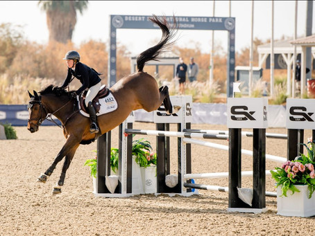 London's de Muze and Messi 10 are Fulfilling Their Promise for O'Neill Show Jumping