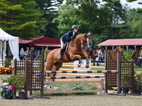"""At the """"Heart"""" of Fieldstone Show Park: Annalise Manoog"""