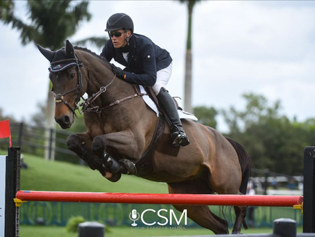 Perfect Partners From the Start: Tanner Korotkin and Deauville S Top FEI Hermes U25 Welcome at WEF 6