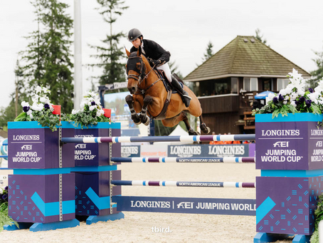 Swail Prevails in $150,000 CSI4*-W Longines FEI Jumping World Cup™ Vancouver