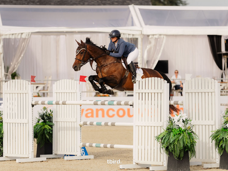Keith Steps Up with Success in $36,900 CSI2* tbird 1.45m