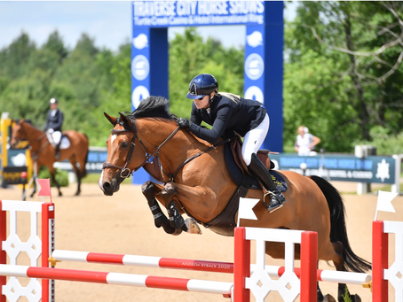 Dalman Show Jumping Returns to the Show Ring with Big Results in Traverse City