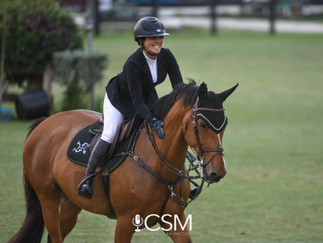 Commitment to Career: Claudia Ballesteros is Putting the Work in to Reach Show Jumping's Top Sport