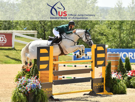 Dalman Jump Co. Partners with US Equestrian as Official Jump Company