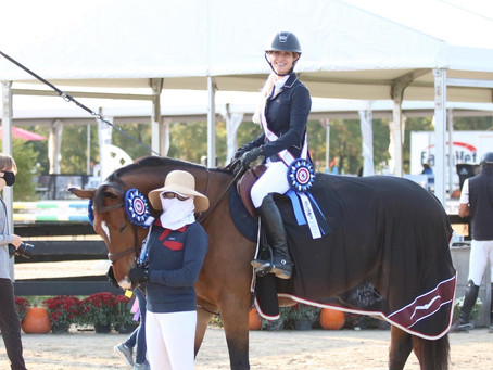 Three Shows, Three Wins: Dalman Show Jumping Welcomes Exciting Prospects Heading into Winter Season